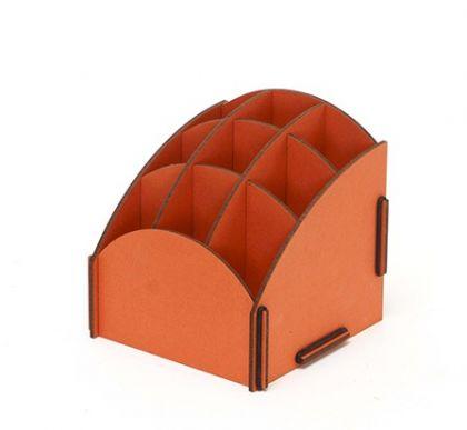 Подставка для косметики Homsu Оранжевая