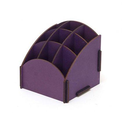 Подставка для косметики Homsu Фиолетовая