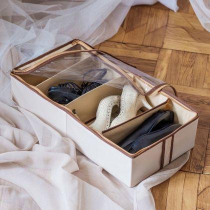 """Органайзер для обуви на 4 ячейки """"Bora-Bora"""", 51 х 25 х 12 см"""