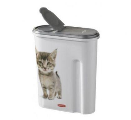 Контейнер для еды Кошки 1,5 кг