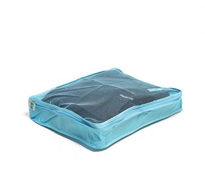 Органайзер для багажа и дома, голубой