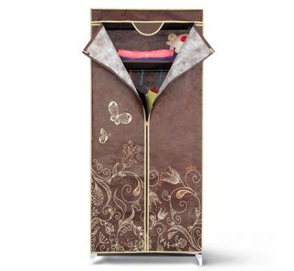 """Тканевый шкаф для одежды Кармэн """"Лето"""", 70 x 44 x 155 см"""