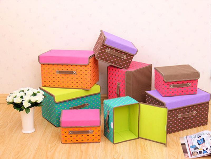 Коробки для хранения вещей декоративные