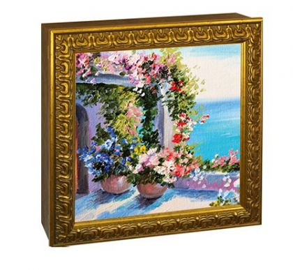 "Аптечка настенная ""Цветочный сад"""