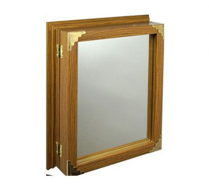 "Настенная ключница с зеркалом ""Элегант"""