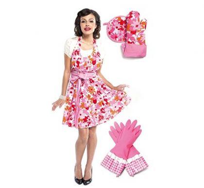 Комплект Розовый цветок