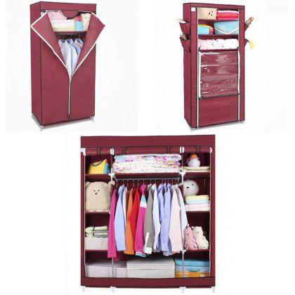 Комплект из 3х шкафов Маджорити, Элис и Кармэн, бордовый