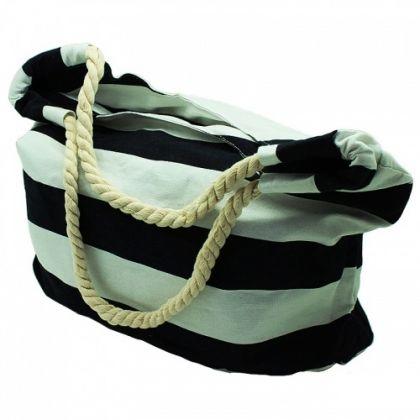 Пляжная сумка в большую полоску, разные цвета