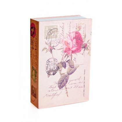 Шкатулка-книга Роза, средняя