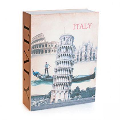 Шкатулка-книга Италия, большая