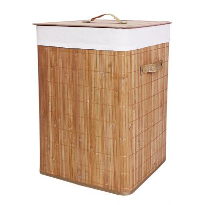 Складная корзина для белья Квадрат, 56 литров