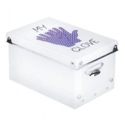 Коробка для хранения перчаток 23,5x15,5x13 см