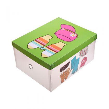 Коробка для хранения одежды 36x28,5x18 см