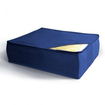 Чехол для хранения подушек и одеял 50x58x19 см, синий