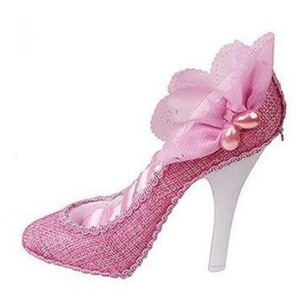 Подставка для украшений Туфелька, розовая