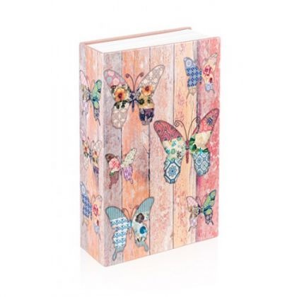 Шкатулка-книга Бабочки, средняя