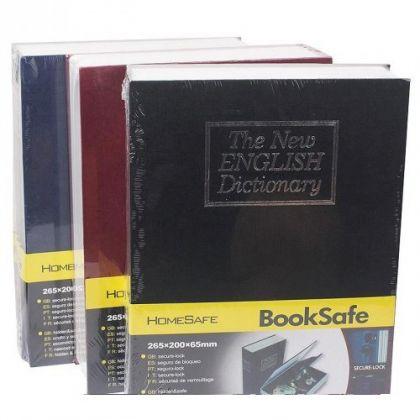 Шкатулка-книга The New English Dictionary большая, разные цвета