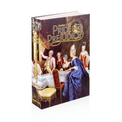 Шкатулка-книга Гордость и Предубеждение, большая