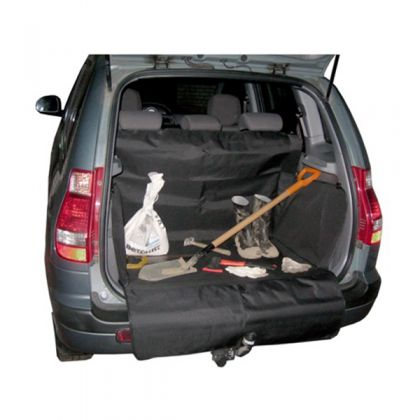 Защитная накидка в багажник XL, черная