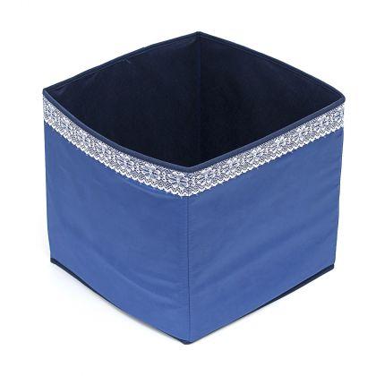 Коробка куб 32х32х32см Winter