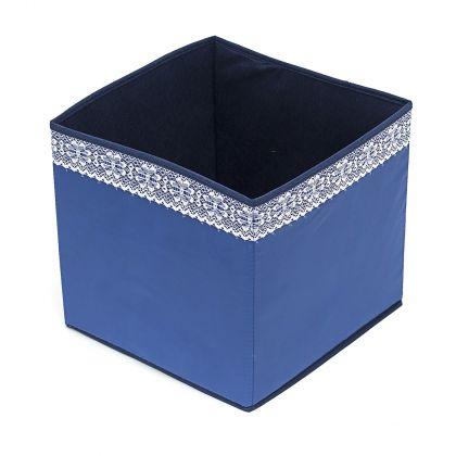 Коробка куб 27х27х27см Winter