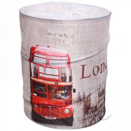 Корзина для белья Лондон 43x34 см