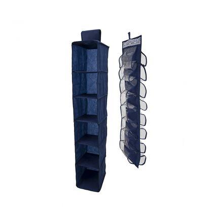 Комплект подвесных органайзеров в шкаф, для колготок, шарфов и мелочей Winter