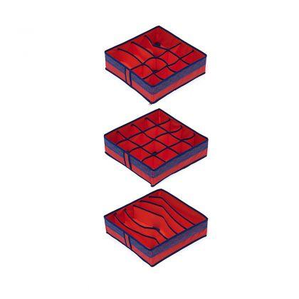 Комплект органайзеров на 6, 12 и 16 ячеек Rosso