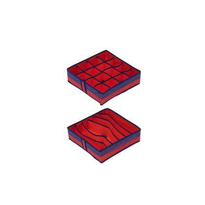 Комплект органайзеров на 6 и 16 ячеек Rosso