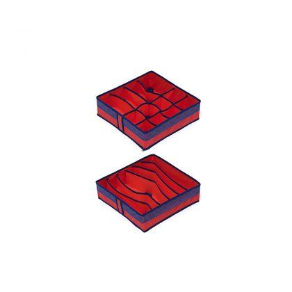 Комплект органайзеров на 6 и 12 ячеек Rosso