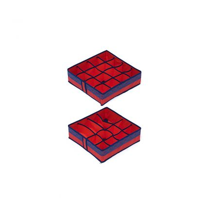 Комплект органайзеров на 12 и 16 ячеек Rosso