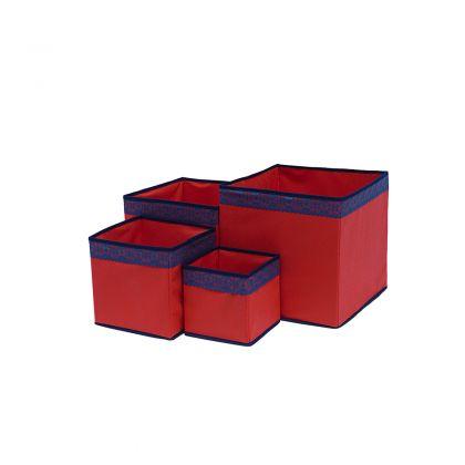 Комплект коробок на 32, 27, 22 и 17 см Rosso