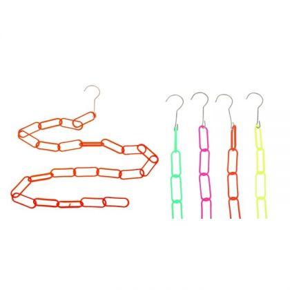Вешалка на 23 кольца для плечиков, разные цвета