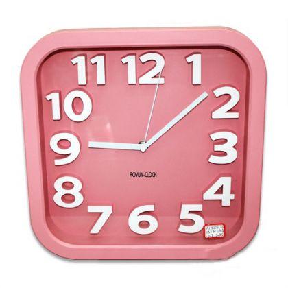 Настольные часы Счастливое время, квадрат