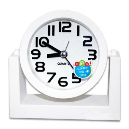 Настольный будильник Счастливое время, разные цвета
