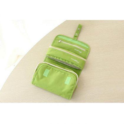 Органайзер складной в дорогу, зеленый