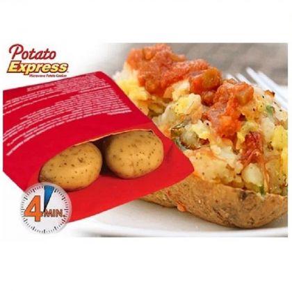 Мешочек Potato Express для приготовления картофеля в микроволновой печи