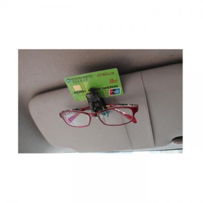 Прищепка для очков и визиток на козырек в авто