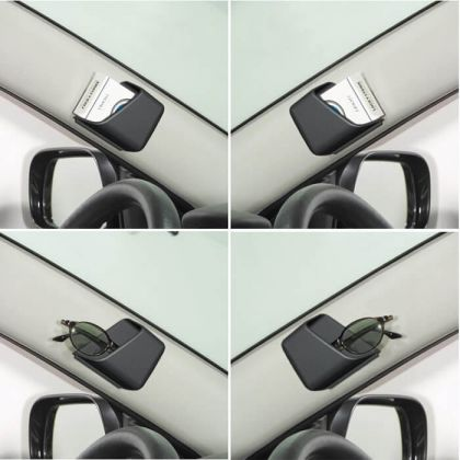 Набор карманов в авто для мелочей, черный