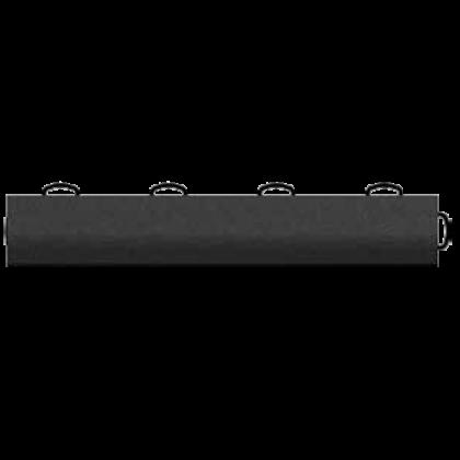 Плинтус Tech Floor с крючками, черный