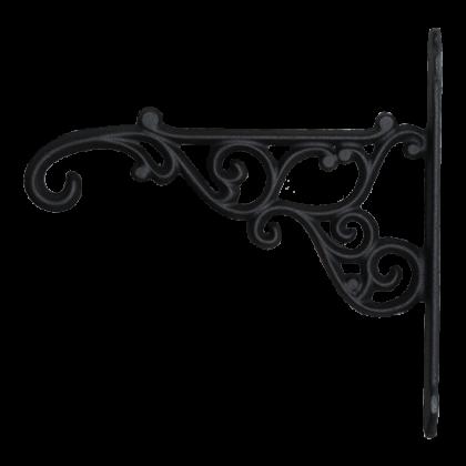 Кронштейн для подвешивания кашпо 18,5 см, черный