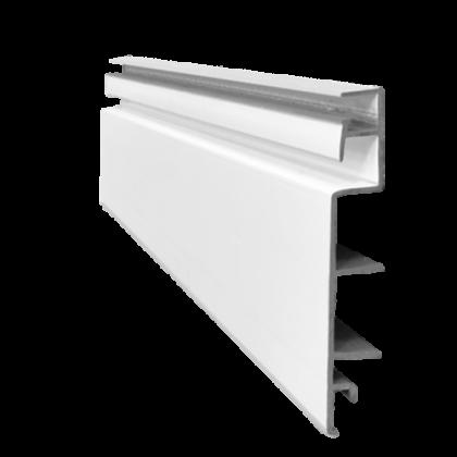 Настенная панель СЛЭТ 200x10x1,7 см, разные цвета