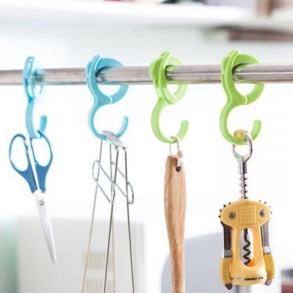 Универсальные подвесные крючки в шкаф