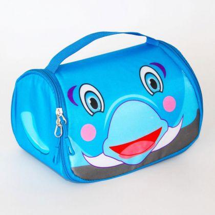 Детская сумка-холодильник для ланчей дельфин snack pets