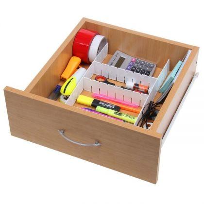 Органайзер-трансформер для вещей и мелочей в ящик из 6 составляющих