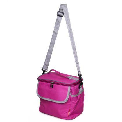 Термо-сумка для ланча, розовая