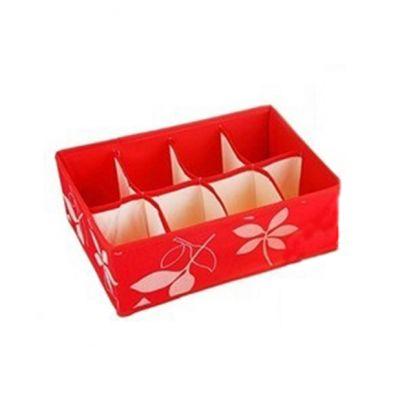 Органайзер на 8 ячеек премиум, красный