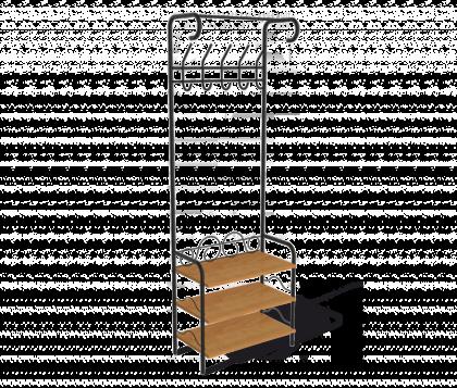 Компакт гардеробная модель 1, черная