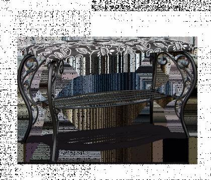 Банкетка модель 4, черная, Зарина