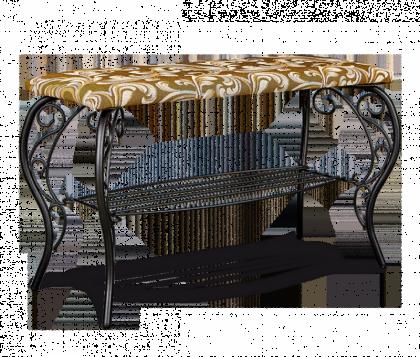 Банкетка модель 4, черная, Катерина